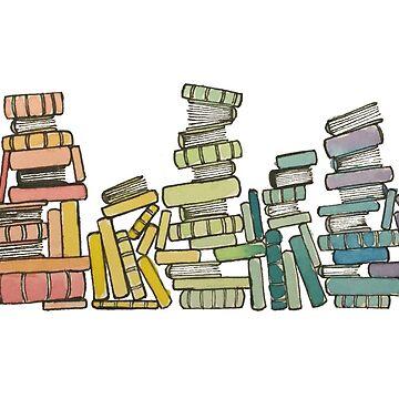 Regenbogen der Bücher von gentlecounsel