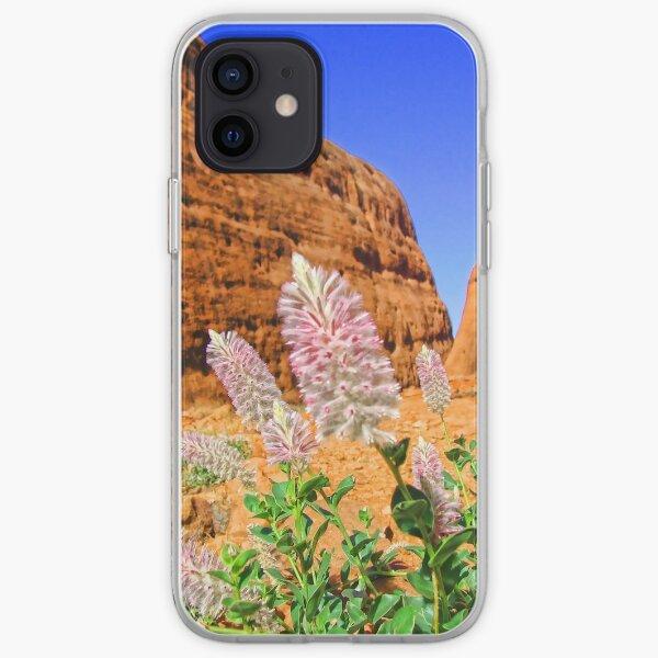 The Olgas Gorge. Uluru-Kata Tjuta National Park. Australia iPhone Soft Case