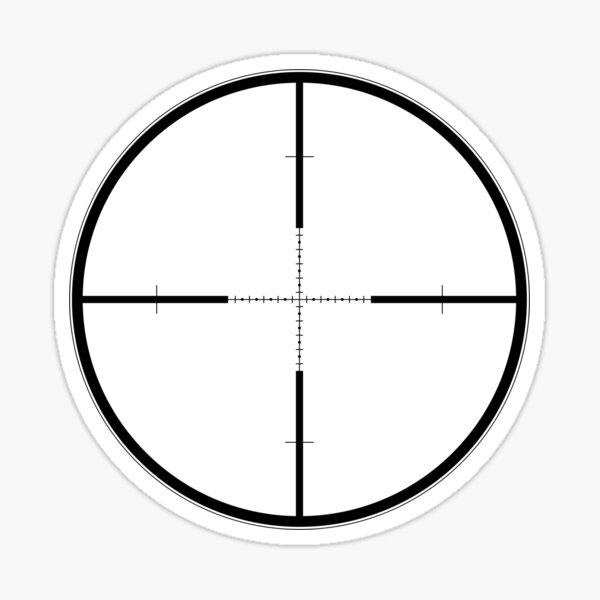 G2B Mil-Dot reticle Sticker