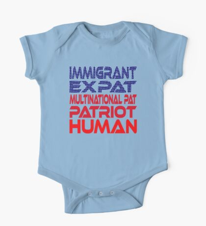 Multinational Thoughts on Our Patriotism: Immigrant Kids Clothes
