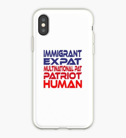Multinational Thoughts on Our Patriotism: Immigrant iPhone Case