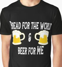 Funny Beer Saying Graphic T-Shirt