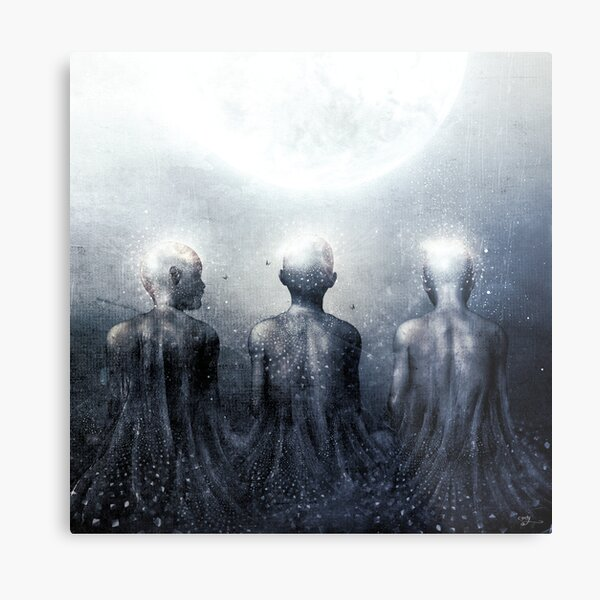 Ghost of Jatun Metal Print
