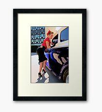 Jules Framed Print