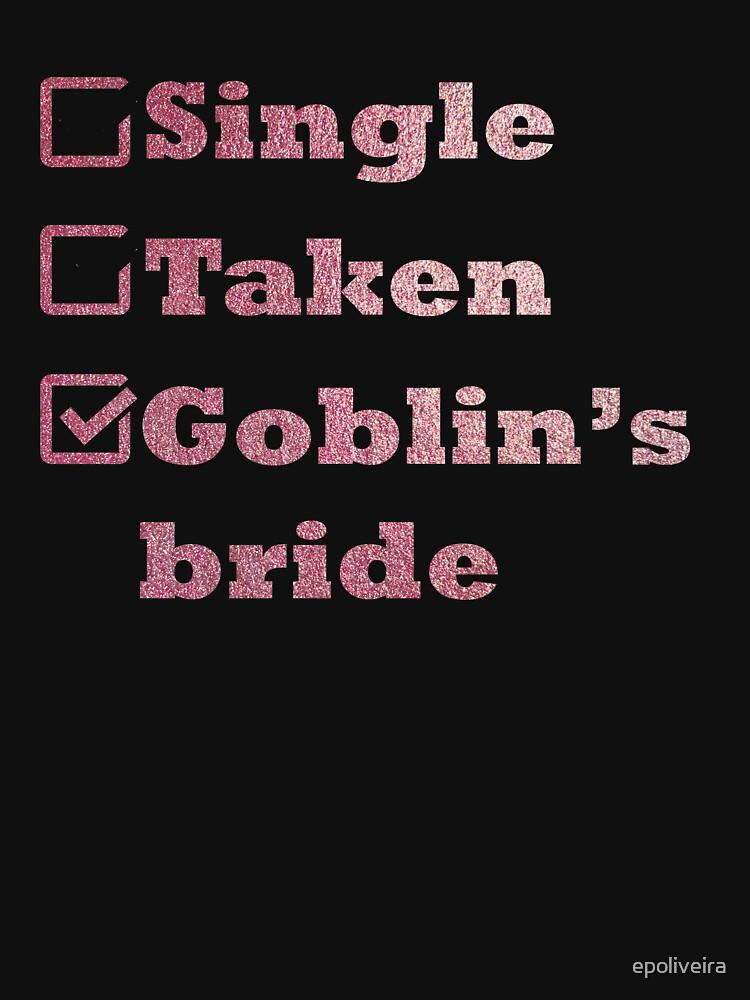 Single Taken Goblin's Bride Rose Gold by epoliveira