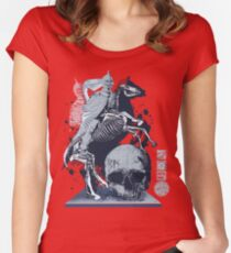 The Game of Kings, Wave Three: The White King's Knight Women's Fitted Scoop T-Shirt