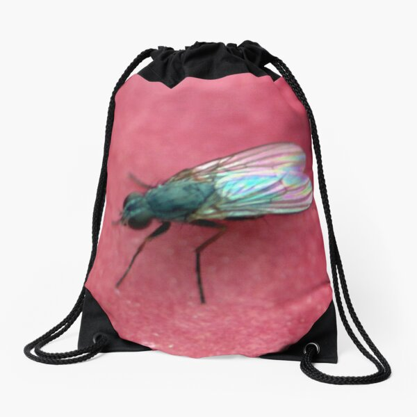 The Fly  Drawstring Bag