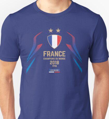 France Champion Du Monde 2018 • Les Bleus • Football World Cup Champion 2018 ID 1-1 T-Shirt