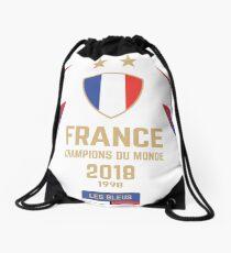 Frankreich Meister Du Monde 2018 • Les Bleus • Fußballweltmeister 2018 ID 1-1 Rucksackbeutel