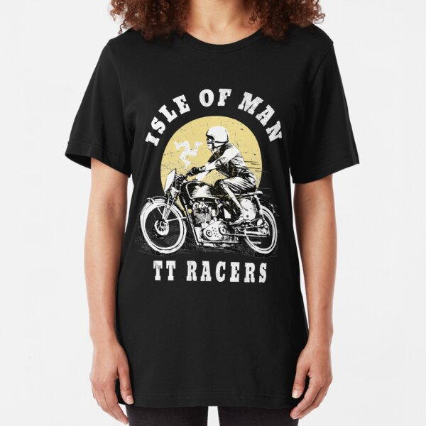 Official 2018 Isle of Man tt Races Print T shirt North West