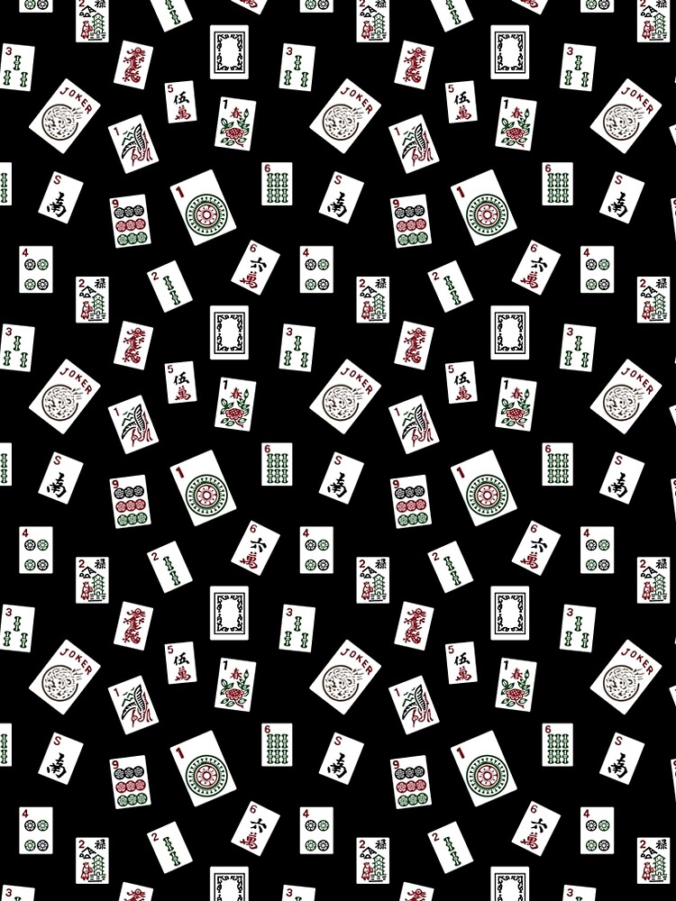 Black Mahjong by sarahbeitler