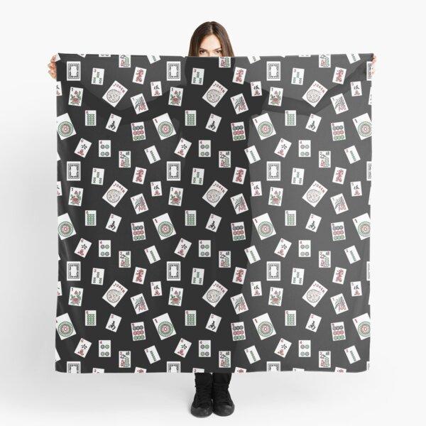 Black Mahjong Scarf