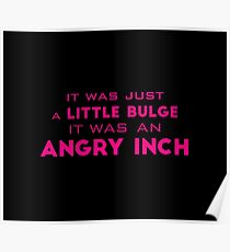 angry inch Poster