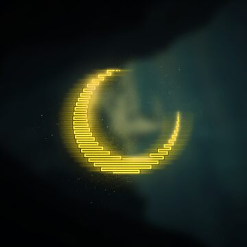 Gold neon - electro moon by m-ersan