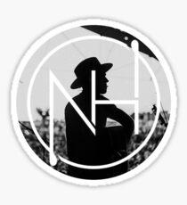 niall logo silhouette 2 Sticker