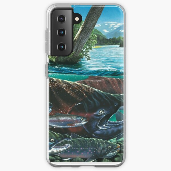 KINGS COURT / KENAI RIVER, ALASKA Samsung Galaxy Soft Case