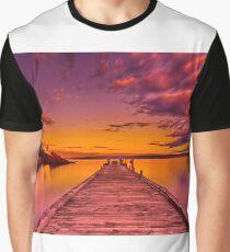 """Freycinet Dawn"" Graphic T-Shirt"