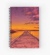 """""""Freycinet Dawn"""" Spiral Notebook"""