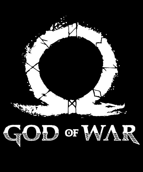 """God of War logo"" Posters by Evelyus 