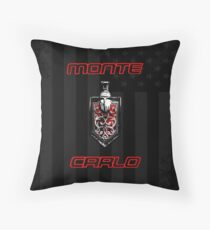 Classic Monte Carlo Throw Pillow