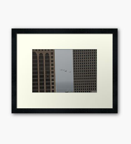 Inbetween Framed Print
