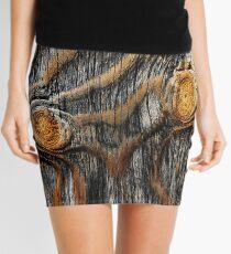 Wood knots Mini Skirt