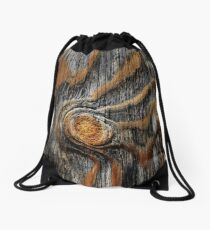 Wood knots Drawstring Bag