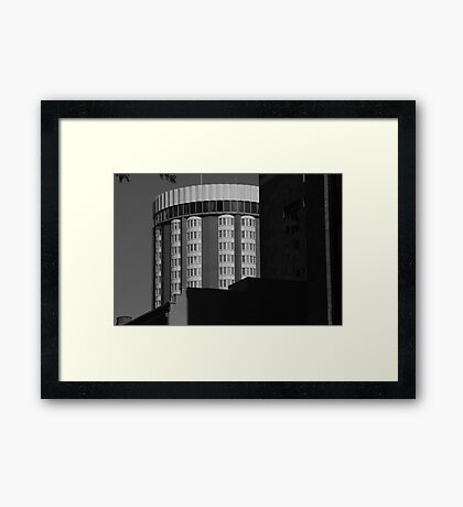 Round About Framed Print