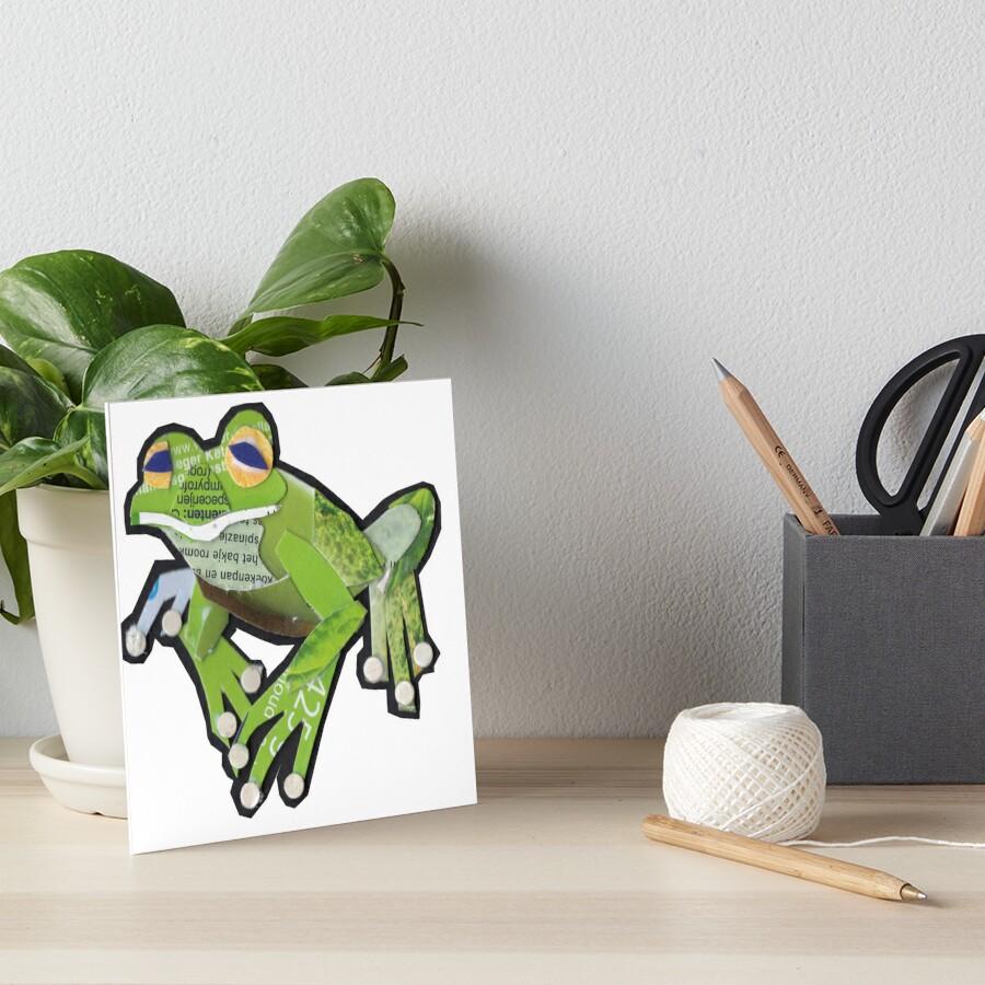 Tiny Tree Frog Art Board Print