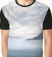 Misty Isle Graphic T-Shirt