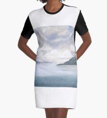 Misty Isle Graphic T-Shirt Dress