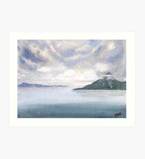 Misty Isle Art Print