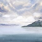 Misty Isle by Pat  Elliott