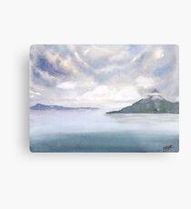 Misty Isle Metal Print