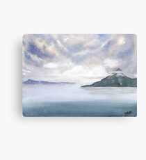 Misty Isle Canvas Print