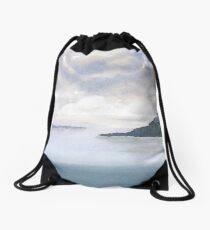 Misty Isle Drawstring Bag