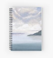 Misty Isle Spiral Notebook