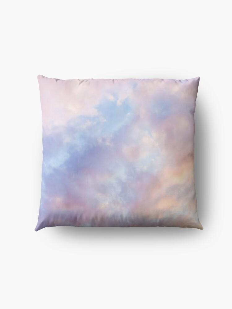 Alternate view of Pink sky Floor Pillow