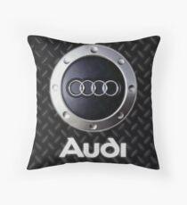 Pin Audi Logo Throw Pillow