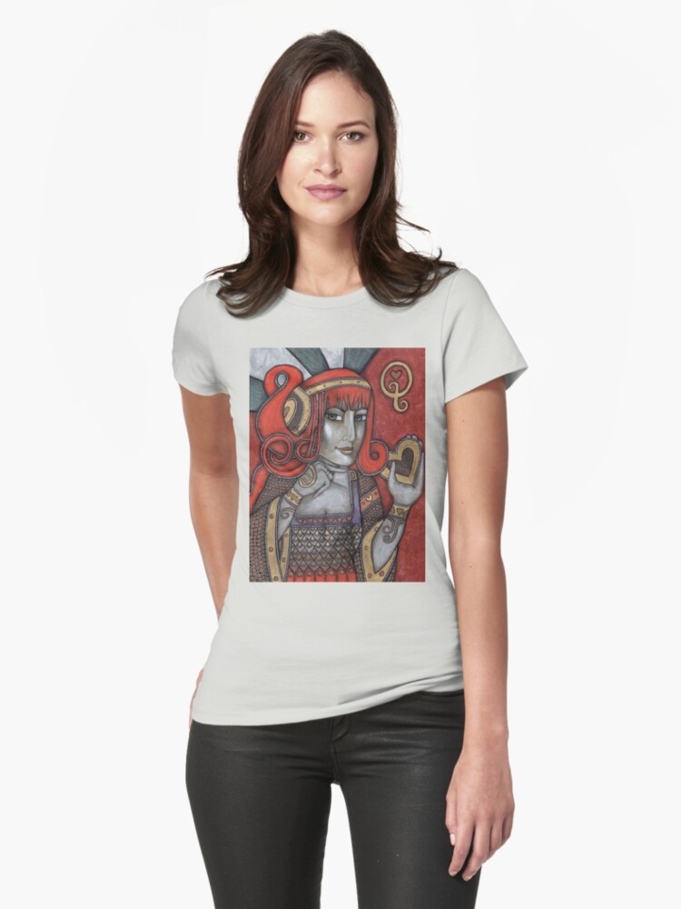 Queen of Hearts Tee (Off With Their Heads!) by Lynnette Shelley