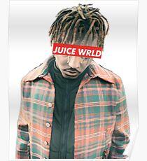 Juice Wrld Torso design  Poster