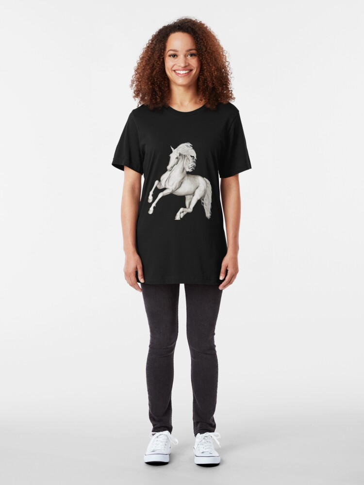 Alternate view of Lipizzaner Slim Fit T-Shirt