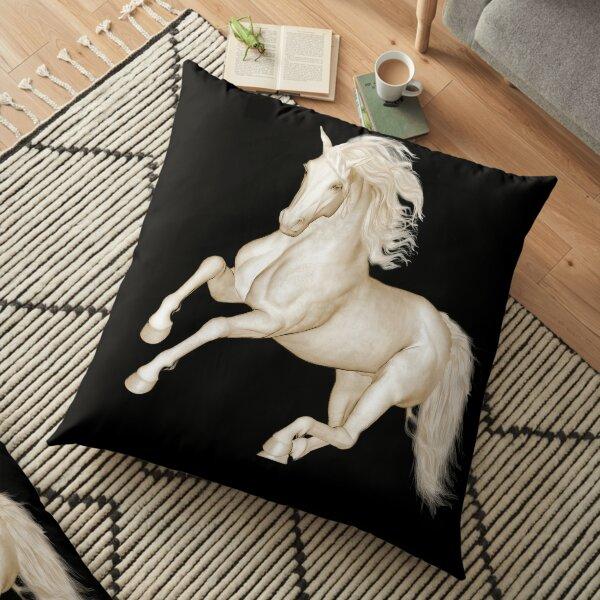 Lipizzaner Floor Pillow