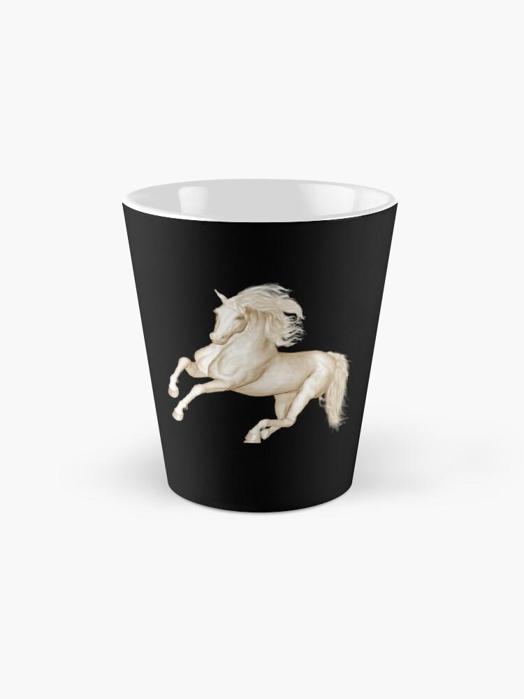 Alternate view of Lipizzaner Mug