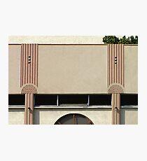 art deco façade Photographic Print