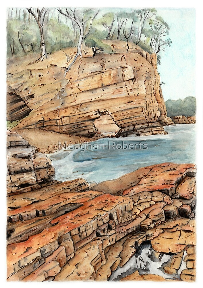 Fossil Cove, Tasmania by Meaghan Roberts