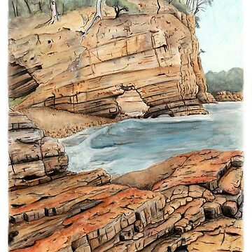 Fossil Cove, Tasmania by MeaghanR