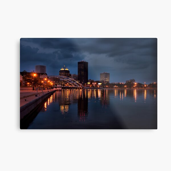 The City of Rochester Metal Print