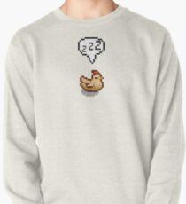 Stardew Valley: Schlafendes weißes Huhn Sweatshirt