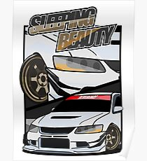 sleeping beauty (mitsubishi evolution) Poster